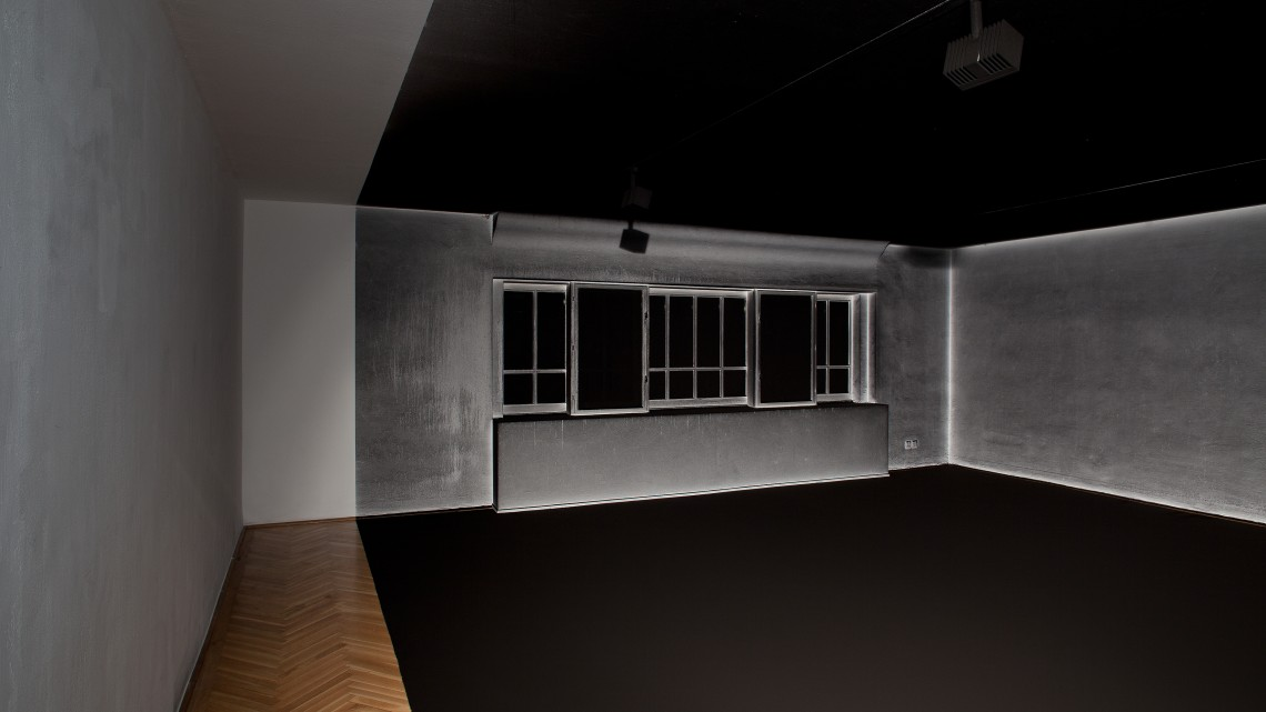 Cinthia Marcelle, Dust Never Sleeps, 2014. Installation view, Secession 2014, Photo Oliver Ottenschlaeger.