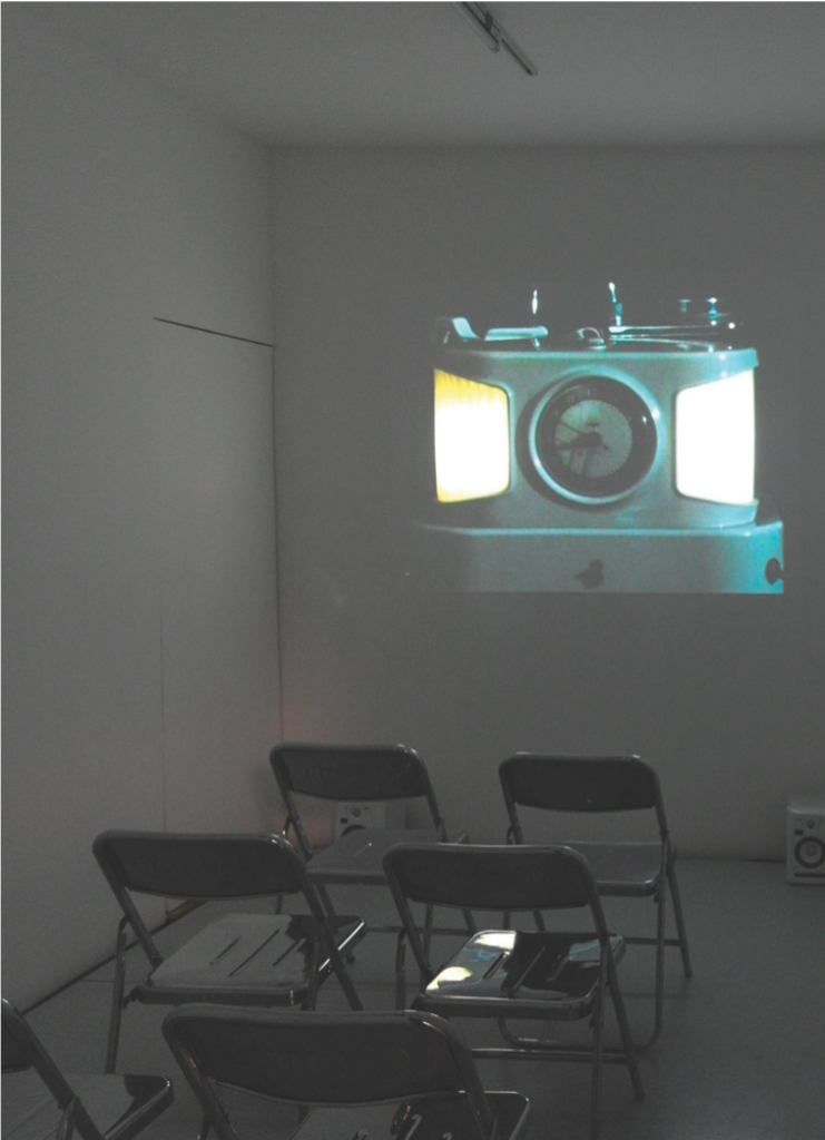 John Smith, The Black Tower, 1985-87. 16mm film transferred to video, color and sound. 24 minutes. Courtesy of the artist, Tanya Leighton Gallery, Berlin, and Lulu, Mexico City. Photograph by Martin Soto.